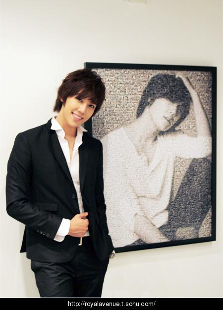 Park Jung Min �Royal Avenue� + nuevo mini blog Sohu